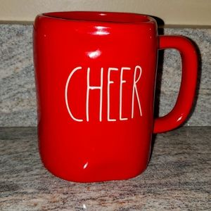 Rae Dunn Red Cheer Christmas Mug